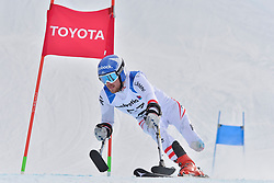 GROCHAR Thomas LW2 AUT at 2018 World Para Alpine Skiing World Cup, Veysonnaz, Switzerland