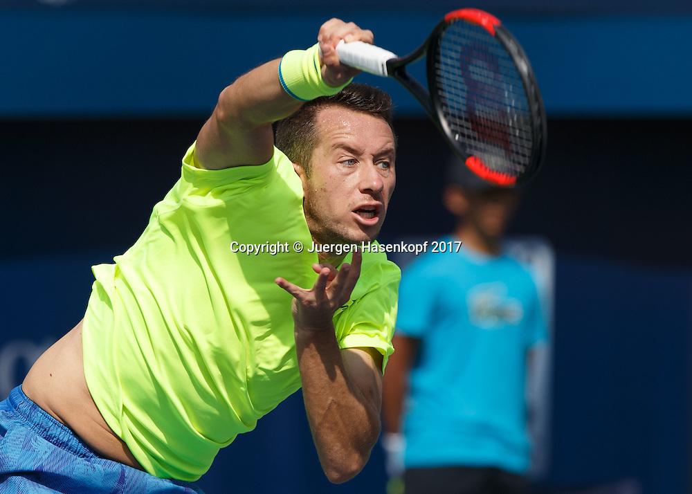 PHILIPP KOHLSCHREIBER (GER)<br /> <br /> Tennis - Dubai Duty Free Tennis Championships - ATP -  Dubai Duty Free Tennis Stadium - Dubai -  - United Arab Emirates  - 27 February 2017. <br /> &copy; Juergen Hasenkopf