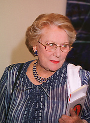 Art patron and friend of HRH The Prince of Wales MRS DRUE HEINZ, at a dinner in London on 1st June 1999.MSR 65