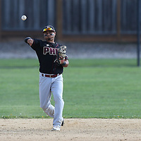 Piedmont Hills vs Prospect in a BVAL West Valley Division Baseball Game at Prospect High School, Saratoga CA on 4/14/16. (Photograph by Bill Gerth (williamgerth.com))