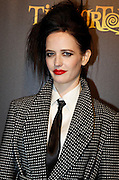 04.MARCH.2012. PARIS<br /> <br /> EVA GREEN AT A PRIVATE DINNER CELEBRATING NEW TIM BURTON EXHIBITION HELD AT &quot; LA CINEMATHEQUE &quot; A DAY BEFORE THE OPENING TO THE PUBLIC, IN PARIS, FRANCE.<br /> <br /> BYLINE: EDBIMAGEARCHIVE.COM<br /> <br /> *THIS IMAGE IS STRICTLY FOR UK NEWSPAPERS AND MAGAZINES ONLY*<br /> *FOR WORLD WIDE SALES AND WEB USE PLEASE CONTACT EDBIMAGEARCHIVE - 0208 954 5968*