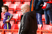 Fleetwood Town manager Uwe Rosler during the EFL Sky Bet League 1 match between Charlton Athletic and Fleetwood Town at The Valley, London, England on 4 February 2017. Photo by Andy Walter.