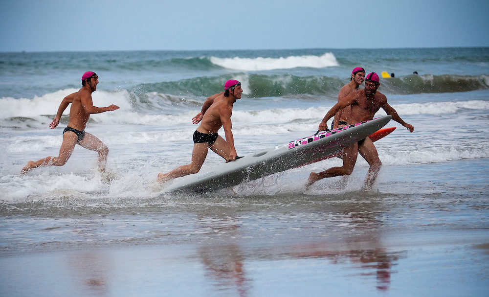 Surf life saving competition, Napier, New Zealand, Monday, June 11, 2011.  Credit: SNPA / Bethelle McFedries