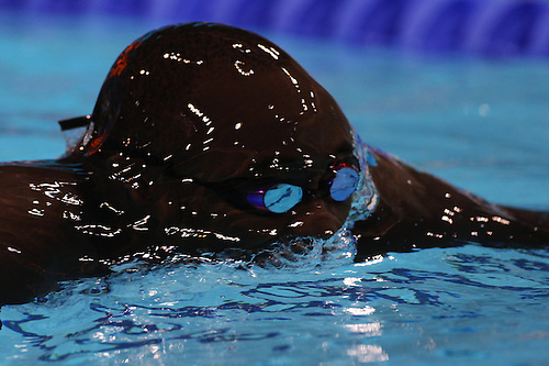 Malick Fall, Senagal, In Action During The Menu0027s 100m Breaststroke During  The Swimming Heats.