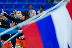 13-12-2019 JAP: Semi Final Netherlands - Russia, Kumamoto<br /> The Netherlands beat Russia in the semifinals 33-22 and qualify for the final on Sunday in Park Dome at 24th IHF Women's Handball World Championship / Martine Smeets #24 of Netherlands