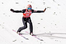 13.01.2019, Stadio del Salto, Predazzo, ITA, FIS Weltcup Skisprung, Val di Fiemme, Herren, 1. Wertungsdurchgang, im Bild Dawid Kubacki (POL) // Dawid Kubacki of Poland during his 1st Competition Jump for the Four Hills Tournament of FIS Ski Jumping World Cup at the Stadio del Salto in Predazzo, Italy on 2019/01/13. EXPA Pictures © 2019, PhotoCredit: EXPA/ JFK