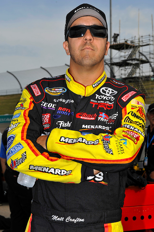 13-14 July, 2012, Newton, Iowa USA.Matt Crafton.(c)2012, Scott R LePage .LAT Photo USA