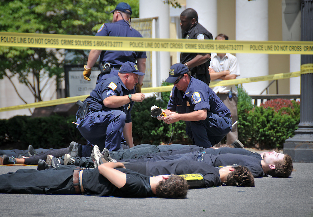 Human rights activists, labor organizers, union and student groups protested against the Colombian Free Trade Agreement on 06/29/2009. The protest coincided with the White House meeting between Colombian President Alvaro Uribe and U.S. President Barack Obama.