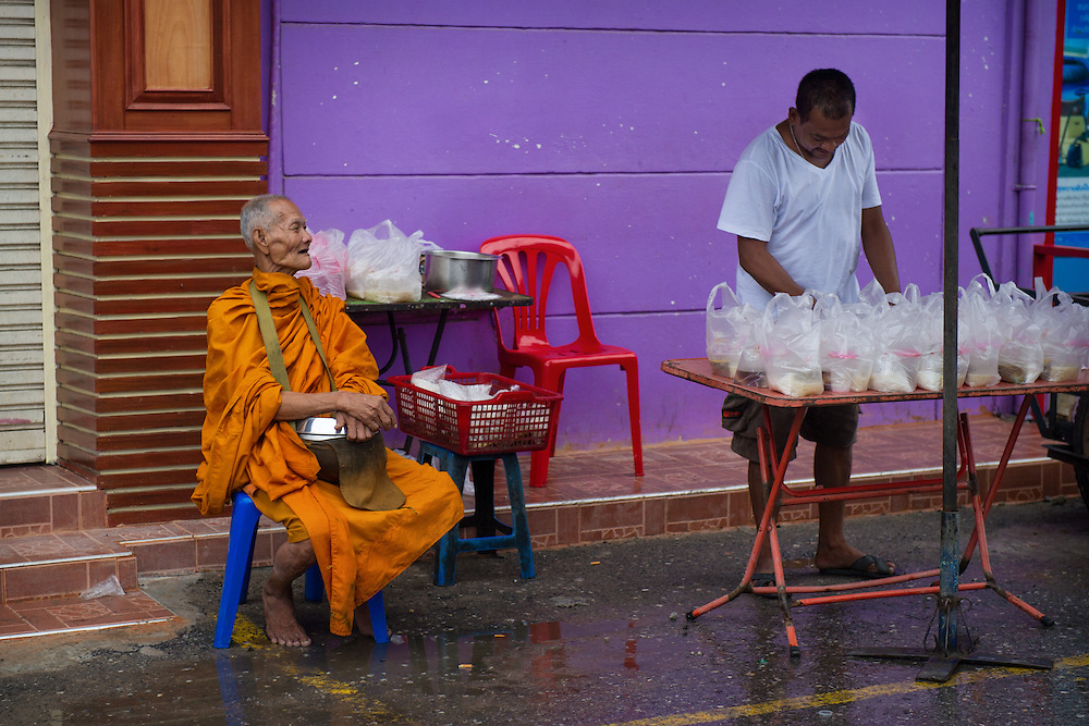 Morning Market, Nakhon Nayok, Thailand