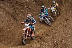 Jeremy Van Horebeek #89 of Belgium , Maximillian Nagl #12 of Germany and Glenn Coldenhoff #259 of Nederland during MXGP Trentino race two, round 5 for MXGP Championship in Pietramurata, Italy on 16th of April, 2017 in Italy. Photo by Grega Valancic / Sportida