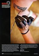 NEW INTERNATIONALIST Magazine<br /> Jan/Feb 2009 - Southern Exposure column.<br /> Worldwide publication.