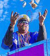 Dauphin Island, Alabama - Mardi Gras 2015 - Krewe de la Dauphine