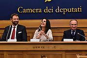 giacomo galanda, daniela sbrollini, giovanni petrucci<br /> Conferenza Presentazione Progetto Easy Basket in Classe<br /> FIP 2017<br /> Roma, 08/11/2017<br /> Foto M.Ceretti / Ciamillo-Castoria