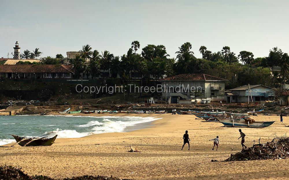 Hambantota, Sri Lanka. Scenes after the tsunami 26.12.04