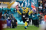 Jacksonville Jaguars enter Wembley during the International Series match between Jacksonville Jaguars and Houston Texans at Wembley Stadium, London, England on 3 November 2019.