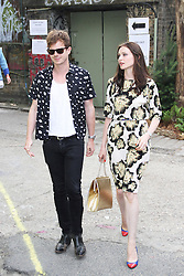 © Licensed to London News Pictures. 02/07/2014, UK. Richard Jones & Sophie Ellis-Bextor, Kopparberg Urban Forest - Launch Party, Abbott Street Car Park, London UK, 02 July 2014. Photo credit : Brett D. Cove/Piqtured/LNP