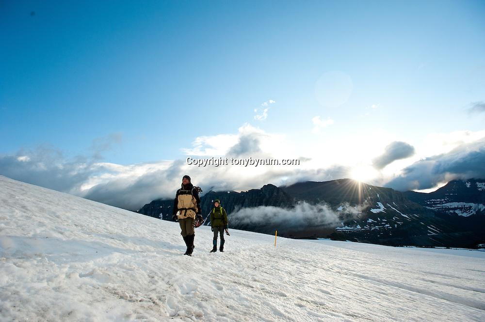 snowshoeing big mountains