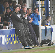Dundee manager Paul Hartley - Greenock Morton v Dundee, SPFL Championship at Cappielow<br /> <br />  - &copy; David Young - www.davidyoungphoto.co.uk - email: davidyoungphoto@gmail.com