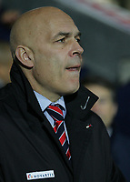Photo: Paul Thomas.<br /> Blackburn Rovers v Basle. UEFA Cup. 02/11/2006.<br /> <br /> Christian Gross, Basel manager.