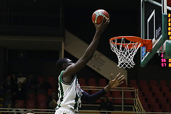 November 8, 2017 - Avellino, Campania, Italy - Shot basketball of Hamady Ndiaye of Sidigas Avellino during third day of Champions League match between Sidigas Avellino v Cez Nymburk at Palasport Giacomo Del Mauro, Avellino, Italy November on 8, 2017. Avellino won 80-63. (Credit Image: © Paolo Manzo/NurPhoto via ZUMA Press)
