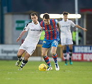 Dundee's Paul McGowan and Inverness' Greg Tansey - Inverness Caledonian Thistle v Dundee in the Ladbrokes Scottish Premiership at Caledonian Stadium, Inverness.Photo: David Young<br /> <br />  - © David Young - www.davidyoungphoto.co.uk - email: davidyoungphoto@gmail.com