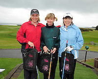 Maureen Molloy , Ger Lyons and Bridget Togher from Castlebar Golf Club  at the Galway Golf Club for the AIB Ladies Irish Open Club Challenge qualifier..Photo:Andrew DownesMArge Heirons, Laurena Freeley and Breedge Folliard from Ballyhaunis Golf Club  at the Galway Golf Club for the AIB Ladies Irish Open Club Challenge qualifier..Photo:Andrew Downes
