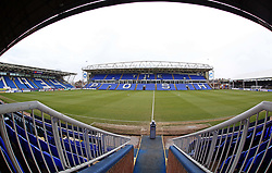 A general view of the ABAX Stadium home of Peterborough United - Mandatory by-line: Joe Dent/JMP - 10/03/2018 - FOOTBALL - ABAX Stadium - Peterborough, England - Peterborough United v Charlton Athletic - Sky Bet League One