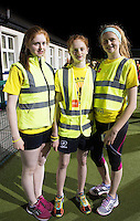 Alanna Rachel and Rebecca from Kinvara  at the Kinvara Darkness into Light walk in Kinvara in aid of Pieta House  :<br />  Photo:Andrew Downes, XPOSURE