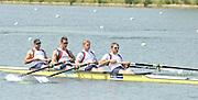Caversham, Great Britain.  GBR M4-, Bow, Alex PARTRIDGE, Rick EGINGTON, Alex GREGORY and Matt LANGRIDGE. GB Rowing media day, GB Rowing Training Centre, Caversham. Tuesday,  18/05/2010 [Mandatory Credit. Peter Spurrier/Intersport Images]