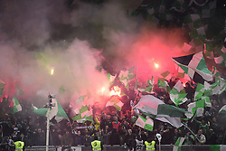 January 20, 2019 - Saint Etienne, France, FRANCE - Supporters de St Etienne - Ambiance  Tifo fumigenes (Credit Image: © Panoramic via ZUMA Press)