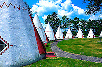 Wigwam camping, Hwy 31, Cave City, KY