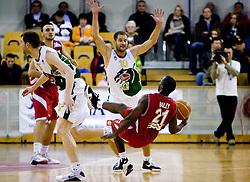 Maurice Bailey of Crvena zvezda at basketball match of NLB League between KK Union Olimpija and KK Crvena zvezda,  on October 24, 2009, Arena Tivoli, Ljubljana, Slovenia.  Union Olimpija won 94:76.  (Photo by Vid Ponikvar / Sportida)