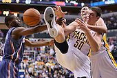 NBA - Indiana Pacers vs Charlotte Bobcats - Indianapolis, In
