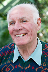 Older man smiling,