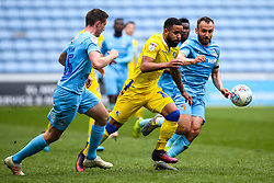 Alex Jakubiak of Bristol Rovers goes past Dominic Hyam and Liam Kelly of Coventry City  - Mandatory by-line: Robbie Stephenson/JMP - 07/04/2019 - FOOTBALL - Ricoh Arena - Coventry, England - Coventry City v Bristol Rovers - Sky Bet League One