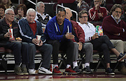 Al  Cowlings aka A.C. Cowlings attends an NCAA basketball game between the Long Beach State 49ers and the Southern California Trojans  in Los Angeles, Nov 28, 2018.