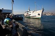 Istanbul. Ferries on the Bosporus.