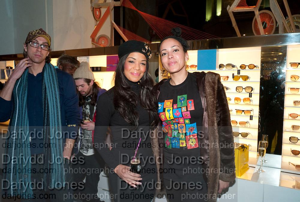 Sarah Jane Crawford;; DEBBIE REECE BLOCK, The Nineties are Vintage. Concept Store, Rellik and Workit. The Wonder Room. Selfridges. Oxford St. London. 7 January 2010.