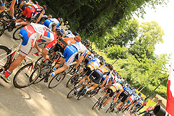 Buchten, Netherlands - Ster ZLM Toer 2013: Stage 3 - 14th June 2013 - Peloton on Cauberg