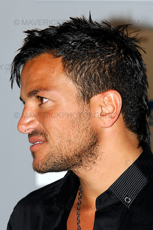 Peter Andre attends the Media Guardian Edinburgh International Television Festival at the Edinburgh International Conference Centre today...Picture shows Peter Andre at the MGEITF