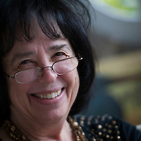 Alan Richardson<br /> Dundee, UK<br /> http://www.pix-ar.co.uk<br /> <br /> Jane Yolen, American author and poet, photographed at St Andrews University, Scotland on 31st October 2012