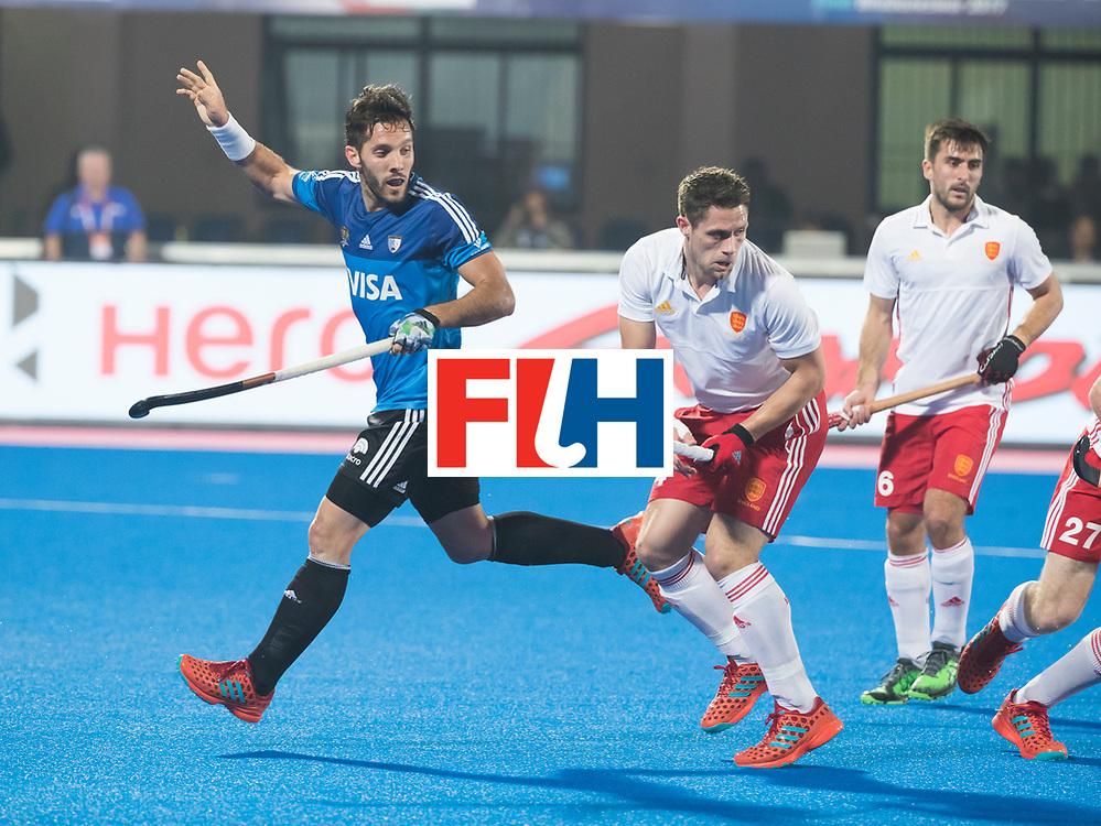 Odisha Men's Hockey World League Final Bhubaneswar 2017<br /> Match id:14<br /> England v Argentina , Quater Final<br /> Foto: Agustin Mazzilli (Arg)<br /> WSP COPYRIGHT KOEN SUYK