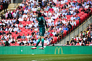 Arsenal goalkeeper Petr Cech (33) during the FA Community Shield match between Arsenal and Chelsea at Wembley Stadium, London, England on 6 August 2017. Photo by Sebastian Frej.