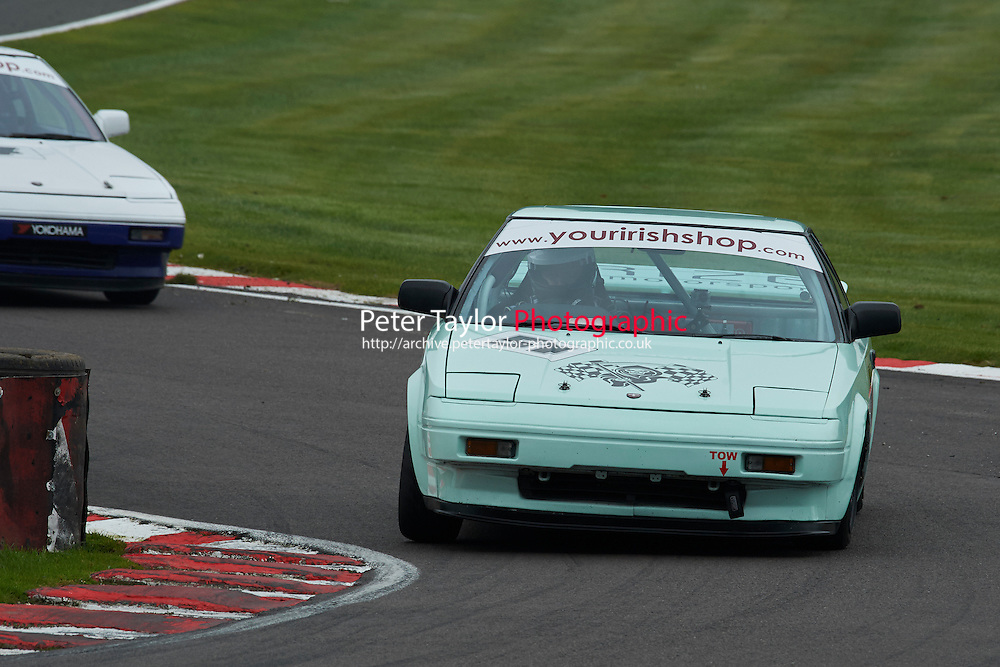 #51 Adam LOCKWOOD Toyota MR2 Mk1 during Nippon Challenge / Youririshshop.com MR2 Racing Series - Race 1  as part of the BARC Championships Race Day at Oulton Park, Little Budworth, Cheshire, United Kingdom. October 03 2015. World Copyright Taylor/PSP. Copy of publication required for printed pictures.  Every used picture is fee-liable. http://archive.petertaylor-photographic.co.uk