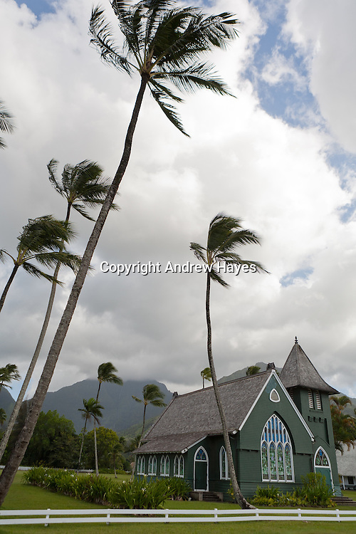 Church in Hanalei, Kauai