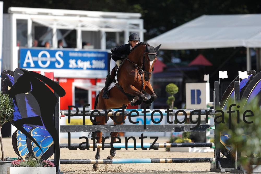 Wulff, Lesley (GER) Linsabelle Rouge<br /> Paderborn - Paderborn Challenge 2016<br /> © www.sportfotos-lafrentz.de