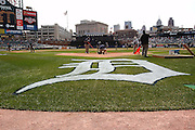 Apr 11, 2006; Detroit, MI, USA:  Comerica Park gorund crews get the field ready for the Detroit Tigers home opener against the Chicago White Sox.