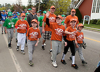 Laconia Little League Parade and Opening Day Ceremonies at Colby Field Saturday, April 21, 2012.  Karen Bobotas/for the Laconia Daily Sun
