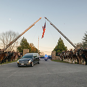 Baltimore homicide detective Sean Suiter is laid to rest at Dulaney Valley Memorial Gardens following his death Nov. 15, 2017 in West Baltimore.