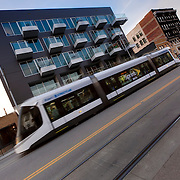 Kansas City Streetcar and 1914 Main new residential building